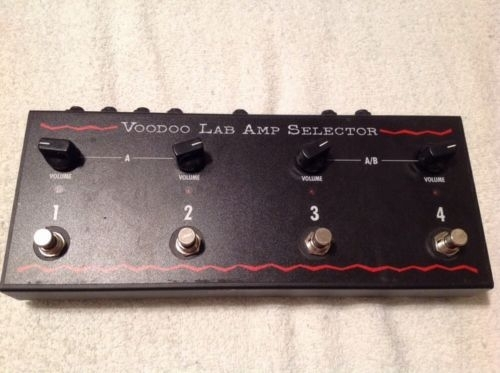 Voodoo Lab Amp Selector - Switch between 4 amps or play them all at once