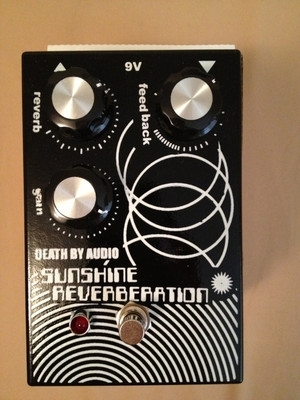 Death by Audio Sunshine Reverbnation Guitar Pedal, Signed by Ty Segall